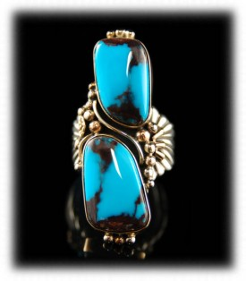 Classic Bisbee Turquoise Ring